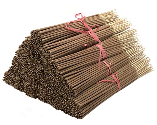 Plant Guru Lavender Incense Sticks, 185 Grams in Each Bundle 85 to 100, Premium Quality Smooth and Clean, Each Stick is 10.5 Inches Long Burn Time is 45 to 60 Minutes Each.