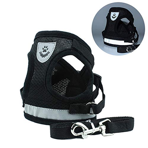 kaling Dog Harness Step-in Mesh Dog Puppy Harness Vest for Small Dogs Chihuahua Yorkies