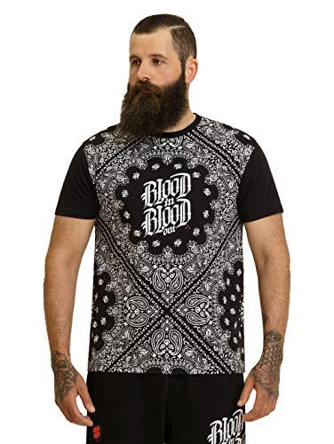 Blood In Blood Out Männer Bandana T-Shirt - schwarz 3XL