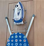 Britten & James iron and ironing board holder for wall or cupboard. Hotel quality.