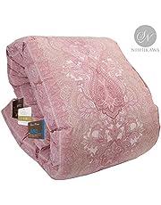 【Amazon.co.jp 限定】昭和西川(Showa-nishikawa) 掛けふとん ピンク シングル シングル 信頼の羽毛布団 暖ふわ350DP ダウン85% Amazon企画WDD85