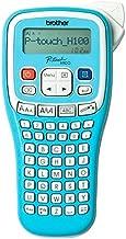 Brother PTH100 - Rotuladora electrónica de mano con diseño ergonómico (con pantalla LCD), color azul claro