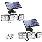 La Càmb Muse Luces LED Solares para Exteriores Luz con Sensor de Movimiento...