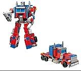 Modbrix Juego de construcción Optimus Transform de 377 piezas, 38 cm, juguete de construcción