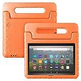 Feitenn Fire HD 8 / Plus タブレット用スタンドケース(オレンジ)