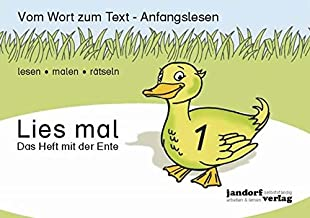 Lies mal 1 - Das Heft mit der Ente (German Edition)