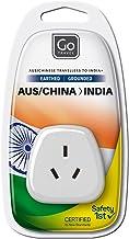 Go-Travel Indian Adaptor, White, 240
