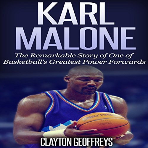 Karl Malone audiobook cover art