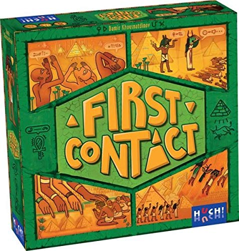 Hutter Trade First Contact Brettspiel, bunt