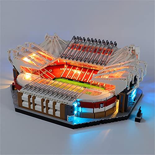 Kit De Luces Led Para Creator Expert Old Trafford Manchester United, Compatible Con El Modelo De Bloques De ConstruccióN De Juguetes Lego 10272 (No Incluido En El Modelo)