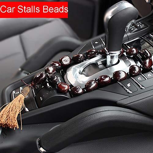 QCGJEL Auto Ornamente Bodhi Samen Frieden Bohnen Stände Getriebe Dekoration Auto Rückspiegel Hängen Anhänger Automotive Decor Zubehör