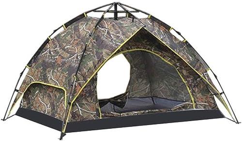 LYN Tentes de Camping, Tente de randonnée pour 3-4 Personnes Configuration Rapide et Facile; Prêt en Un Instant Quand Vous devez Aller Dehors;