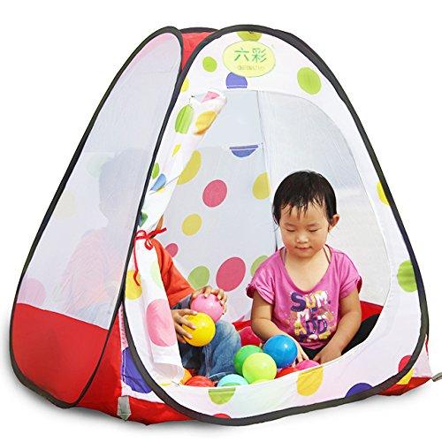 Juguetes y Juegos Tente para Niños Tent Indoor Portable Child Tents Camping al Aire Libre Game House Niños 's Secret Castle Baby Toys (Plus 50 Bola de 8 cm) (Tamaño : 90 * 90 * 93)