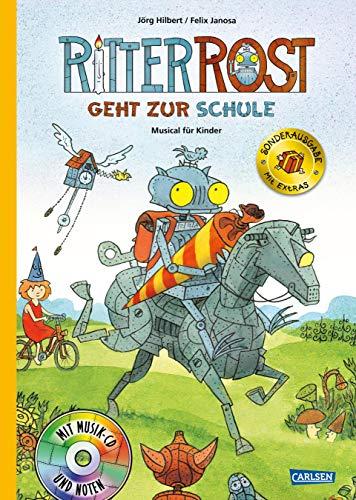 Ritter Rost 8: Ritter Rost geht zur Schule (limitierte Sonderausgabe): Buch mit CD