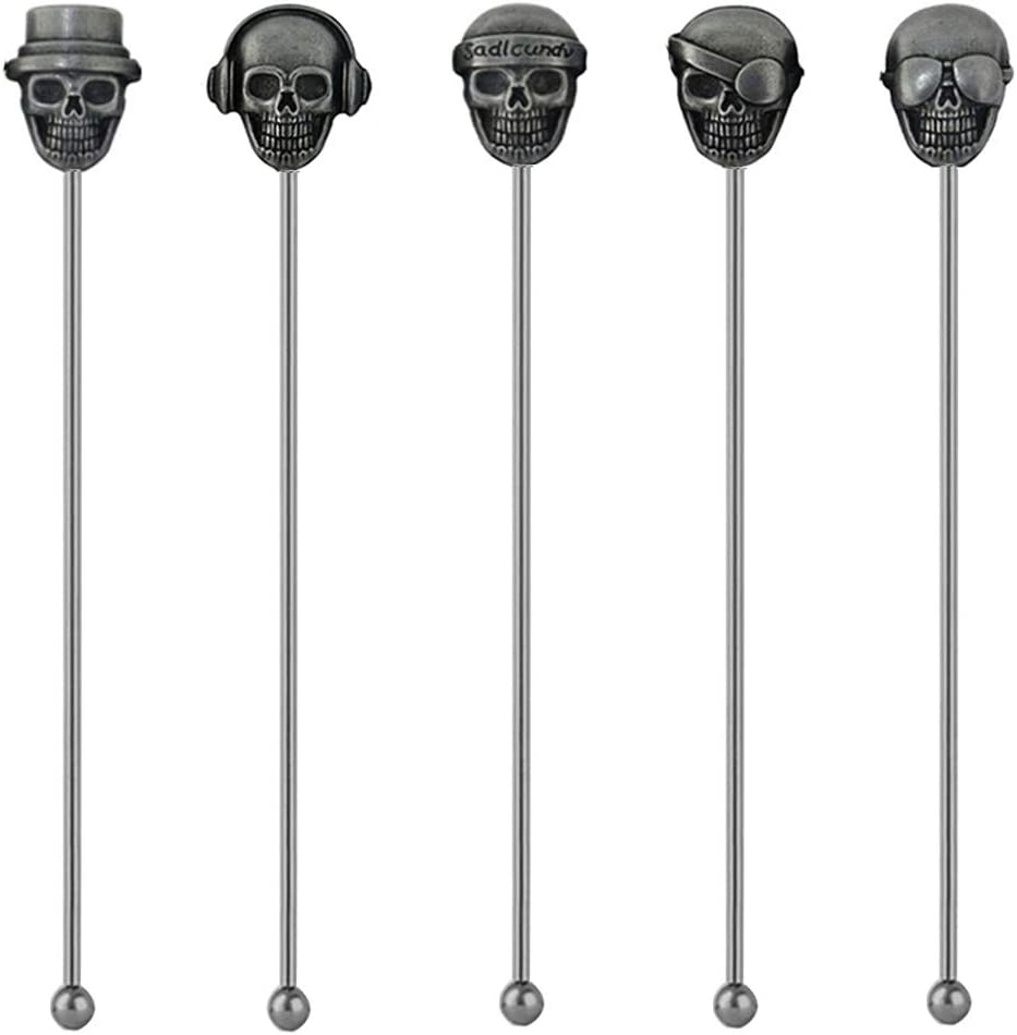 Mike Home In a popularity 5pcs Swizzle Sticks Coffee Stainless 5 ☆ very popular Be Stirrers Steel