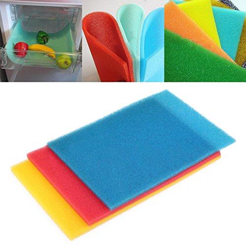 Kühlschrankmatten Kühlschrank Pads für Frische Lebensmittel Spar Farbe Zufällig , 1 Stück