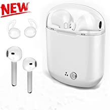 $29 » Wireless Bluetooth Earbuds, Mini Waterproof Headphones Hands-Free Calling Earphones Sport Driving Headsets 5 Hour Playtime with Mic and Charging Box for Smart Phones and Other Smart Devices