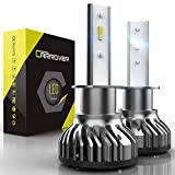 H1 LED Bulbs, CAR ROVER 50W 10000Lumens Extremely...