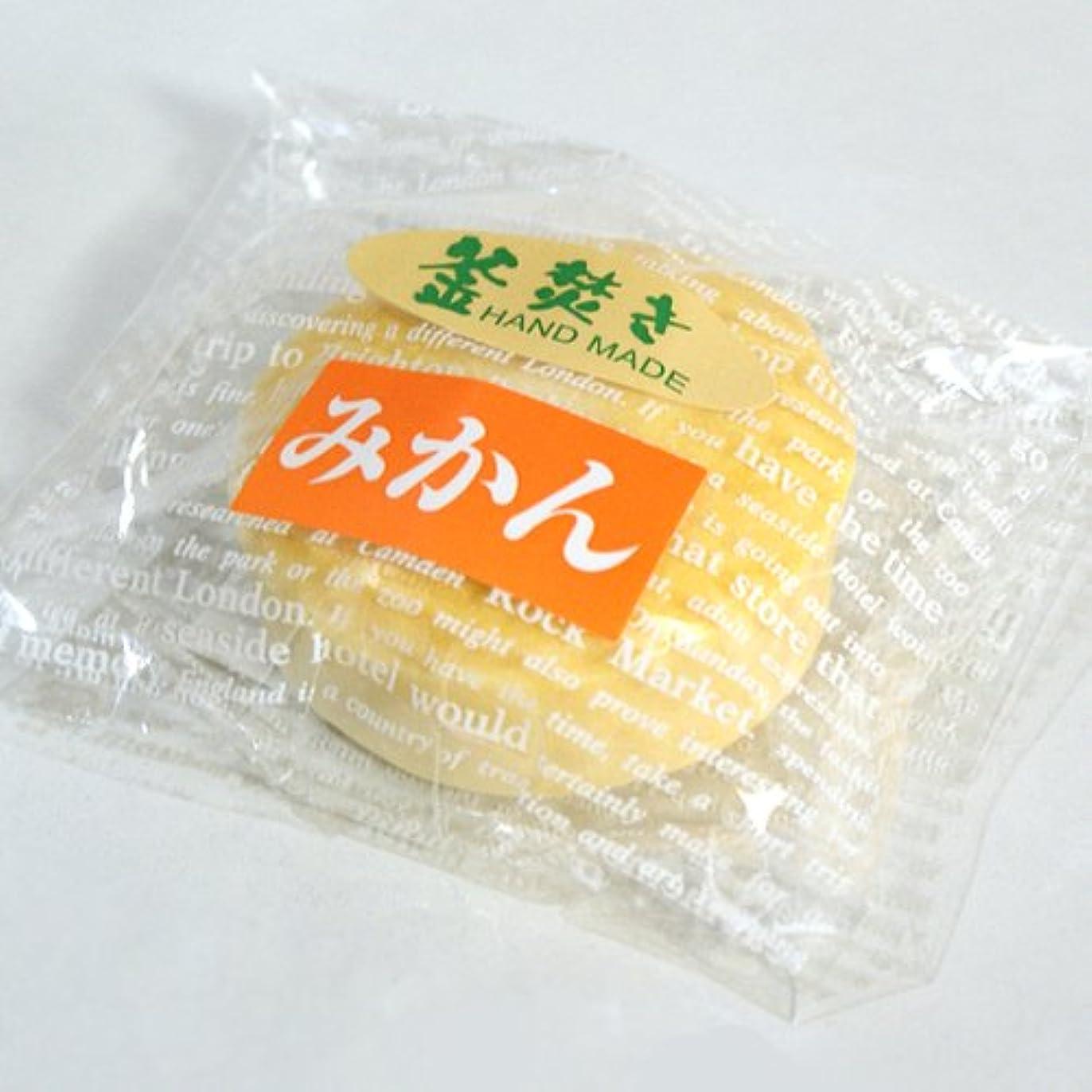 規制する翻訳するばかげている八坂石鹸 手作り石けん みかん60g