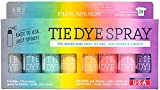 S.E.I. Playful Pastel Tie Dye Kit, Fabric Dye Spray, 8...