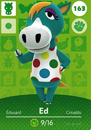 Nintendo Animal Crossing Happy Home Designer Amiibo Card Ed 163/200 USA Version