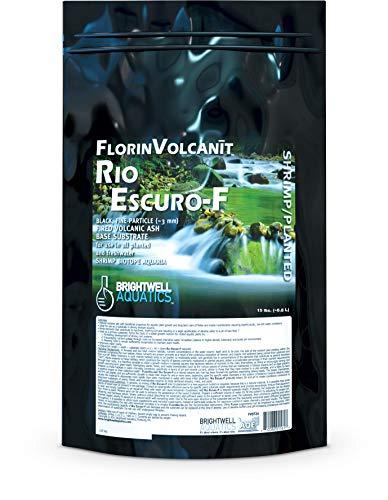 Brightwell Aquatics FlorinVolcanit Rio Escuro-F - Fine Black Volcanic Ash...