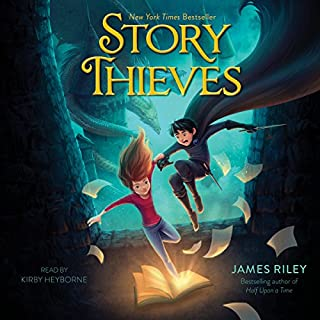 Story Thieves     Story Thieves, Book 1              By:                                                                                                                                 James Riley                               Narrated by:                                                                                                                                 Kirby Heyborne                      Length: 8 hrs and 54 mins     297 ratings     Overall 4.4