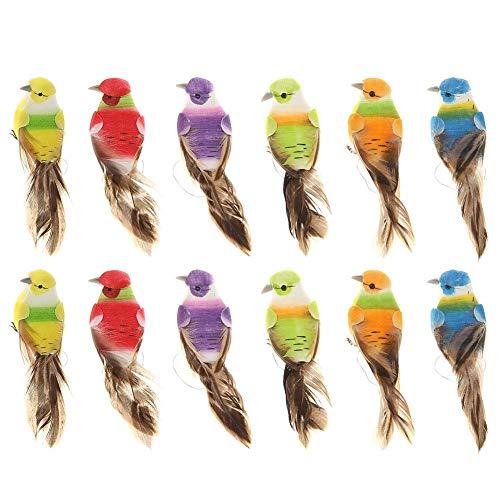 Les 12 oiseaux de décoration