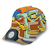 XIAODONG The Simpsons Baseball Cap Beliebte Hip Ho