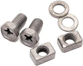 IONI Vervangende schroeven/klemmen voor scooteraccu/accu - (2 schroeven + moten) 5 mm