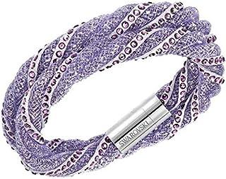 Swarovski Women Stone and Crystals Wrap Bracelet - 5202327