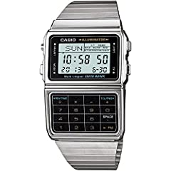 25 pages of Telememo 1/100-second stopwatch Dual time 5 alarms Auto LED light