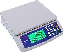 LICHUXIN Numérique Balance Électronique, Précision Balance Plateforme, Affichage LED, Industriel Balance Alimentaire, Bala...