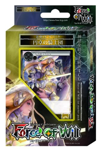 Knights of the Force of Will Starter Deck Round Table (japan import)