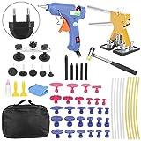 Dispositivo de reparación de abolladuras de automóviles Kit de herramientas de reparación de extracción de abolladuras de automóviles con pistola de pegamento 100-240V 58pcs/Set(欧规)