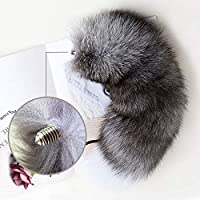 Detachable Anạl Plụg Real Tail Smooth Touch Metal Bụtt Erotic sẹx Tọys Woman Couples Aạult Games Shop-Fox NO