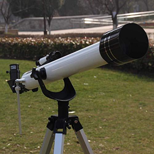 HEZHANG Telescopio de Astronomía, Visión Nocturna, Telescopio Monocular Del Zoom, Enfoque de la Mano, Lente de Vidrio Óptico Recubierto Totalmente Versátil + Trípode