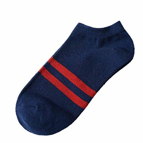 Alikeey Onzichtbare sokken, katoen, ademend, korte sokken voor loafers, bootsschoenen, ballerina, sneakers, 28 paar