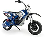 INJUSA Moto-Cross Blue Fighter X-Treme De 24V pour Enfants, Couleur Bleue