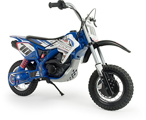 INJUSA Moto Blue Fighter X-Treme de 24V para Niños de 6 a...