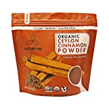 Naturevibe Botanicals Premium Quality Organic Ceylon Cinnamon Powder (1lb), Ground | Certified Organic | Gluten-Free, Keto Friendly & Non-GMO (16 ounces)