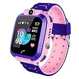 linyingdian Smartwatch Niños, Reloj Inteligente Niña IP67, LBS,...