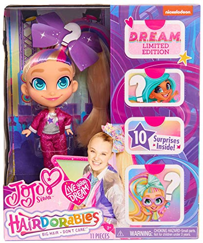 Hairdorables JoJo Siwa Limited Edition D.R.E.A.M. Doll Style A