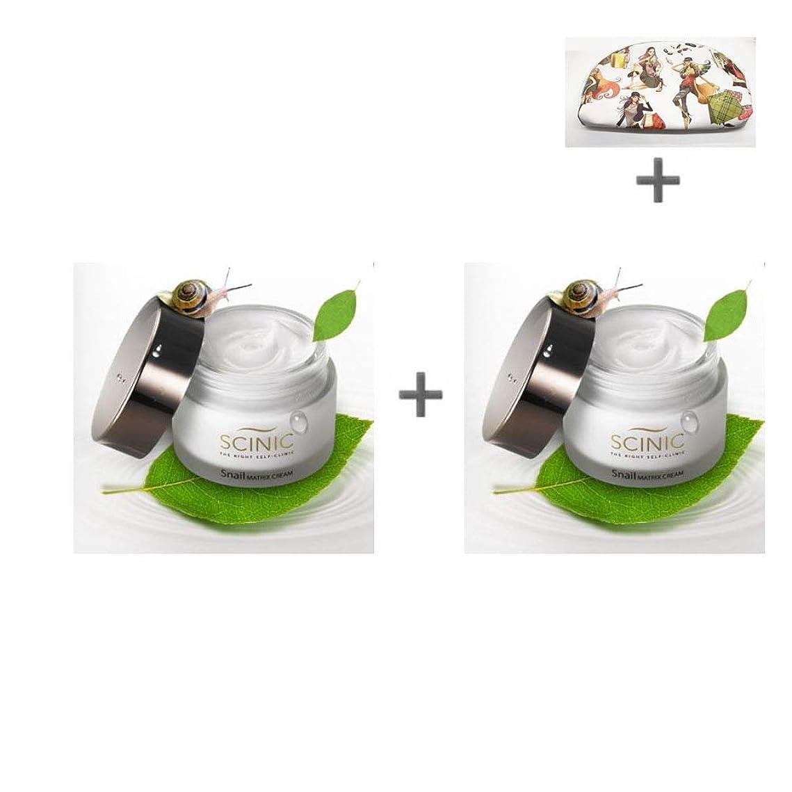 一緒夕食を作るカヌー[サイニク] Scinic サイニク カタツムリクリーム ぷりぷり モチーフ肌 保湿 栄養 クリーム 50ml 1+1 / Scinic Snail Cream [海外直送品][並行輸入品]