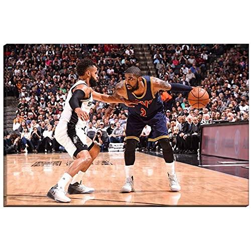 Vspgyf Kyrie Irving Russell Westbrook NBA Star Wall Art Decor Poster Imagen Impresiones en Lienzo Decoración del hogar Regalo -60x90cmx1pcs -Sin Marco