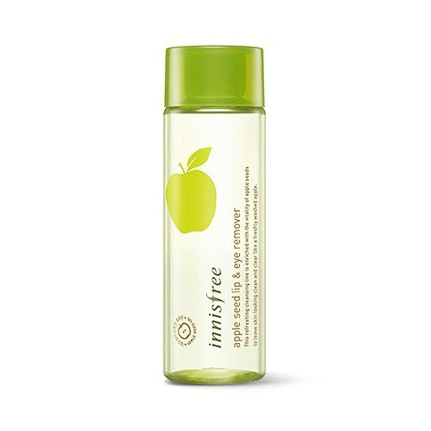 トラフ目覚めるセラフ(3 Pack) INNISFREE Apple Seed Lip & Eye Remover 100 ml (並行輸入品)
