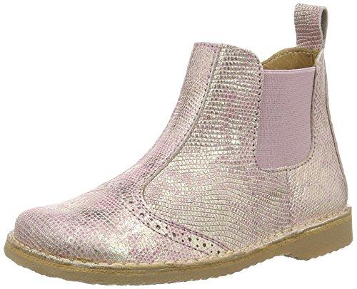 Bisgaard Mädchen Stiefel Chelsea Boots, Pink (710 Rose), 26 EU
