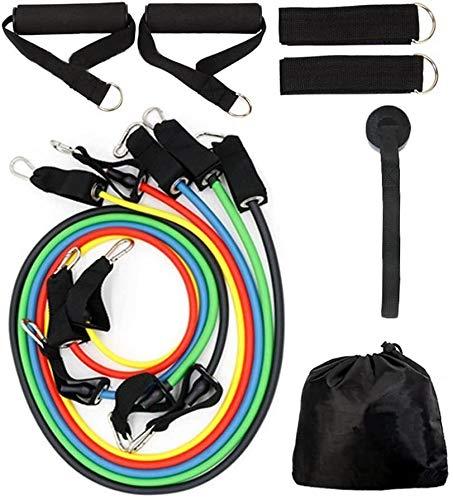 Vellio Shine Resistance Band Set met deuranker, enkelband, Resistance Band draagtas sudaijins (Color : Gourd hook)