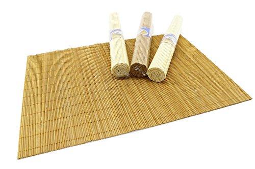 RMB® 4er Set Bambus-Matte Tisch-Platz-Set
