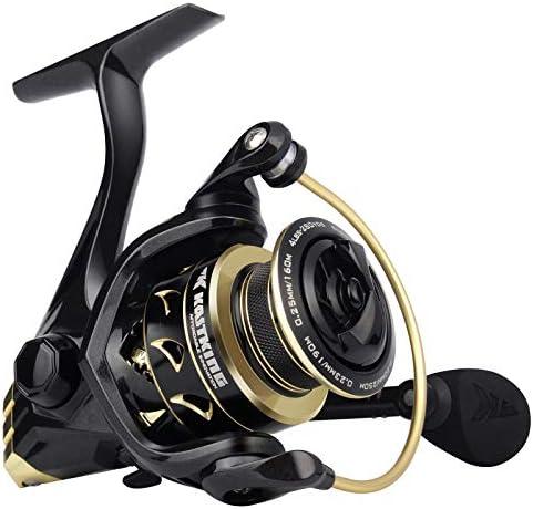 KastKing Valiant Eagle Spinning Reels Black Gold Fishing Reel Size 1000 product image
